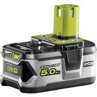 Ryobi One  Ryobi RBL18L50 18V 5 0Ah One  Lithium Ion Battery