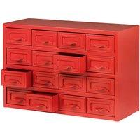 Clarke Clarke CTB800 - 16 Drawer Steel Parts Cabinet