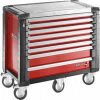 Machine Mart Xtra Facom JET.8M5 - 8 Drawer Tool Cabinet (Red)
