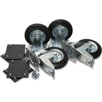 "Machine Mart Xtra Armorgard 6"" Castors (Supplied With Fittings)"