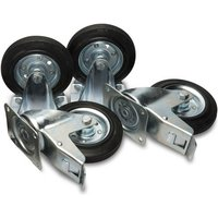 "Machine Mart Xtra Armorgard 6"" Castors (Factory Fitted)"