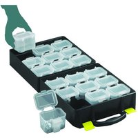 Machine Mart Xtra Topstore QOC/2/5 Assortment Cases with 18 Compartments (5 Pack)