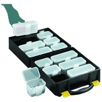 Machine Mart Xtra Topstore QOC/3/5 Assortment Cases with 12 Compartments (5 Pack)