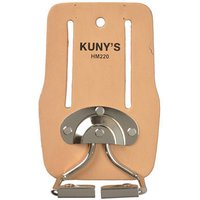 Click to view product details and reviews for Kunys Kunys Top Grain Leather Snap In Hammer Holder.