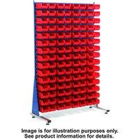Barton Storage Topstore MSS1.5 Spacemaster TC Single Sided Bin Kit 60 x TC3 Red 011516B