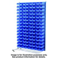 Barton Storage Topstore MDA1.5 Spacemaster TC Double Sided Bin Kit Adda 80 x TC4 Blue 011529C