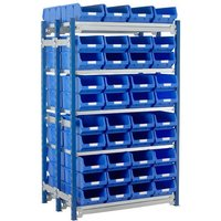 Barton Storage Barton Toprax Double Initial Bay with 80 TC4 Bins & 10 Shelves