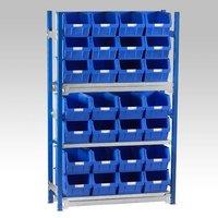 Barton Storage Barton Toprax Standard Initial Bay with 28 TC5 Bins & 3 Shelves