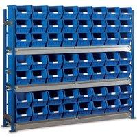 Machine Mart Xtra Barton Toprax Longspan Standard Initial Bay with 56 TC5 Bins & 3 Shelves
