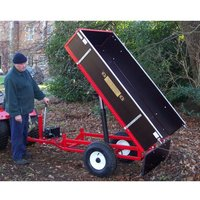 Machine Mart Xtra Sch Htrlm Manual Hydraulic Tipping Trailer