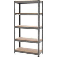 Price Cuts Clarke CSR5150B 150kg Boltless Shelving (Dark Grey)