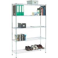 Clarke Clarke CS530 5 Shelf Wire Shelving Unit