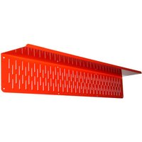 Storbord Storbord 110 SB100-S Hook Red Wall Storage Shelf Panel