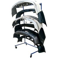 Machine Mart Xtra Power-Tec - Mobile Bumper Rack (Single Sided)