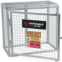 Click to view product details and reviews for Armorgard Armorgard Ggc1 Gorilla Collapsible Gas Cage.