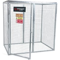 Click to view product details and reviews for Armorgard Armorgard Ggc8 Gorilla Collapsible Gas Cage.