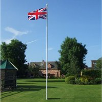 One Stop Promotions One Stop Promotions Deluxe 6 Metre 2 Section Flagpole TP-DELFP6-2