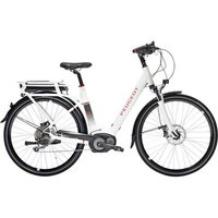 "Peugeot Cycles Peugeot Cycles Ec01-300 Electric Bike 11ah 46cm/18"" White"