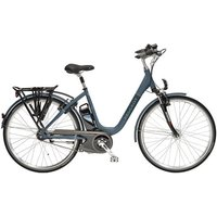 "Peugeot Cycles Peugeot Cycles Ec02-100 Electric Bike 11ah 47cm/18"" Black"