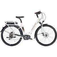 "Peugeot Cycles Peugeot Cycles Ec01-200 Electric Bike 11ah 56cm/22"" White"
