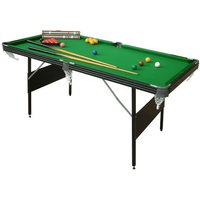 Machine Mart Xtra Mightymast Leisure 6ft Crucible 2in1 Fold-up Snooker/ Pool Table
