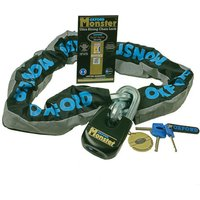 Machine Mart Xtra Oxford Of17 Monster Ultra Strong Chain And Padlock 15m