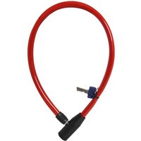 Oxford Oxford Of226 Hoop4 Cable Lock 4mm X 600mm Red