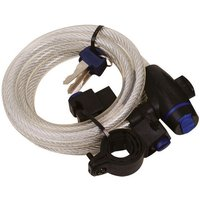 Oxford Oxford 1.8m Cable Lock (Clear)