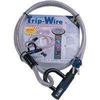 Machine Mart Xtra Oxford Of334 Trip Wire High Security Cable And Padlock 16m