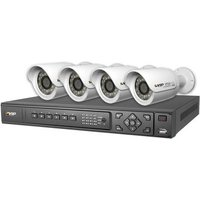 RhinoCo Technology RhinoCo Technology NVR4PROPACK - HD IP Complete System In A Box 4 Camera and NVR Pack