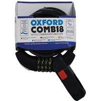 Oxford Oxford Lk689 Combi8 Resettable Combi Lock 8mm X 1800mm