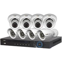 RhinoCo Technology RhinoCo Technology NVR8PROPACK - HD IP Complete System In A Box 8 Camera and NVR pack