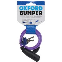 Oxford Oxford Of03 Bumper Cable Lock Purple 6mm X 600mm