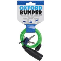 Oxford Oxford Of04 Bumper Cable Lock Green 6mm X 600mm