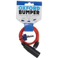 Oxford Oxford Of06 Bumper Cable Lock Red 6mm X 600mm