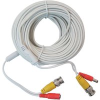 RhinoCo Technology RhinoCo Technology RCA4CHLOOM20M 20m Pre-terminated Combined Power & BNC Video Lead