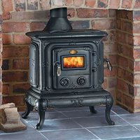 Clarke Clarke Parlour Cast Iron Wood Burning Stove