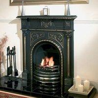 Clarke Clarke Cheltenham Cast Iron Fireplace
