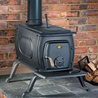 Price Cuts Clarke Boxwood Deluxe Cast Iron Wood Burning Stove