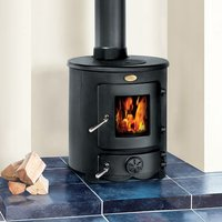 Clarke Clarke Barrel II 8kW Cast Iron Wood Burning Stove