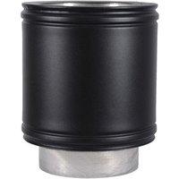 Roccheggiani  Roccheggiani Black Straight Pipe 200mm   2 Sizes