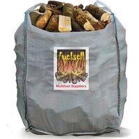 Fuelsell Bulk Hardwood Kiln Dried Fuel Logs   1 Cubic Metre