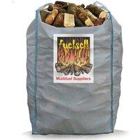 Fuelsell Bulk Hardwood Kiln Dried Fuel Logs   1 5 Cubic Metres