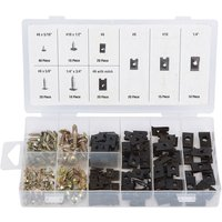 Machine Mart 170 Piece U-Clip And Screw Assortment