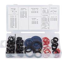 Machine Mart 125 Piece Tap Reseater Washer Assortment Set