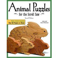 Fox Chapel Publishings Animal Puzzles for the Scroll Saw