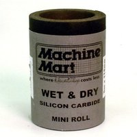 National Abrasives Wet & Dry Silicon Carbide Paper - 5m, 600 Grit
