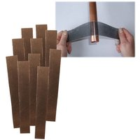 National Abrasives Plumbers Mesh Abrasive Strips Pack of 10