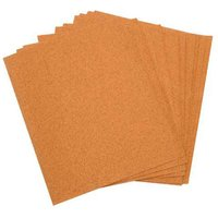 National Abrasives Cabinet Sand Paper Sheets - Pk 10, Assorted