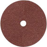 National Abrasives Fibre Backed Alu  Oxide Sanding Disc   180mm  24 Grit